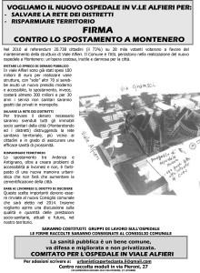 Microsoft Word - VOLANTINO RACCOLTA FIRME