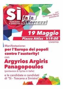19 maggio, Argyrios Panagopoulos a Livorno