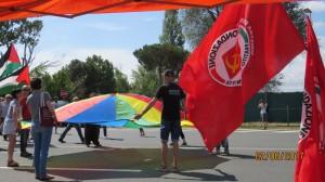 2 giugno 2017, manifestazione a Camp Darby